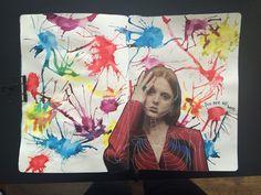 @dansmoncrane | Swirling Paint | Season of Happy | Get Messy Art Journal