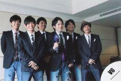 V6 Masayuki Sakamoto Hiroshi Nagano Yoshihiko Inohara Go Morita Ken Miyake Junichi Okada