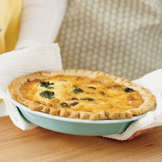 Four-Meals-in-One Quiche (add a pinch of cayanne)