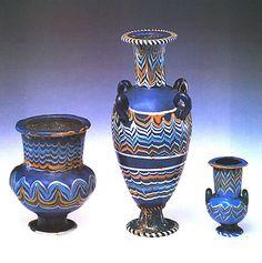 Vases. New Kingdom, Amarna Period, Dynasty 18, ca. 1353–1323 B.C.