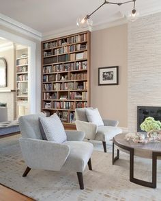 beautiful palette Brooklyn Brownstone - Contemporary - Living Room - New York - The Elegant Abode