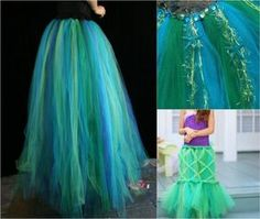 unterwasser-kostüm-nixe-meerjungfrau-tüll-rock-selber-machen