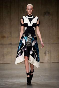 Peter Pilotto at London Fashion Week Fall 2013 - StyleBistro
