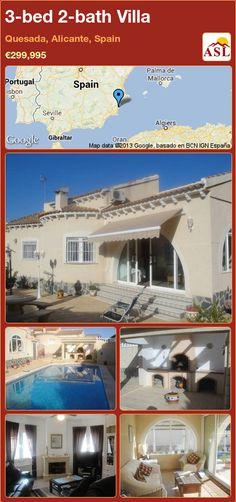 3-bed 2-bath Villa in Quesada, Alicante, Spain ►€299,995 #PropertyForSaleInSpain