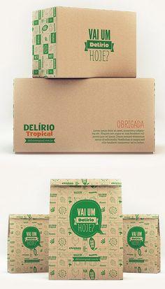 Delírio Tropical Packaging Design Packaging Design e0c09772715