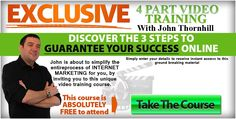 Successful coaching on a longterm serious spirit. John Thornhill do #successful #coaching for #InternetMarketing / #Entreprenuership that want to  #MakeMoneyOnline where he helps strugglers break thru and become successful online at last. http://matsrehn.com/coaching1