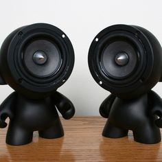 How to make munny speakers