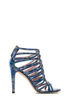 Stuart Weitzman Loops Sandal in Horizon from REVOLVEclothing $475