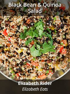 Black Bean & Quinoa