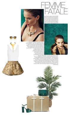"""Make the world stop!"" by teofilo-fradizela ❤ liked on Polyvore featuring Nearly Natural, Balmain, Whiteley, Crate and Barrel, Alaïa, Globe-Trotter, Chanel, Robert Lee Morris, STELLA McCARTNEY and Marc Jacobs"