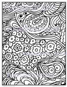 Coloring Page Fun Doodle 3