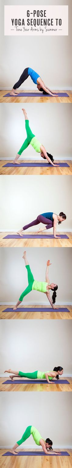 Yoga Sequence to Tone Your Arms