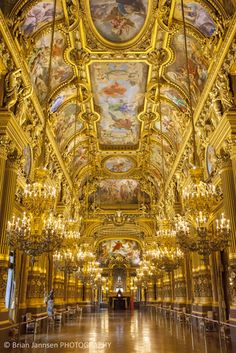 Grand Foyer Palais Garnier - Opera - Paris