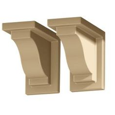 Yorkshire Decorative Brackets (2 pack), Clay-4821-C at The Home Depot
