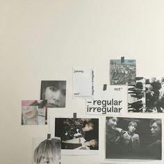 「sunflo w e r x」 Army Room Decor, Study Room Decor, Room Ideas Bedroom, Bedroom Decor, Wall Decor, Bedroom Wall, Nct, Aesthetic Room Decor, Kpop Aesthetic