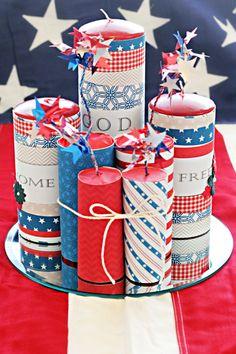 Fourth of July Firecrackers | pennyspringmann.com - Freebie Printable