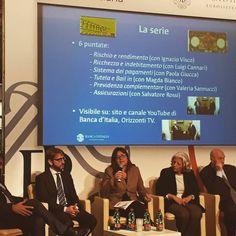 Chiacchiere su educazione finanziaria e dintorni ... con la Banca d'Italia e Paolo Mieli #educazionefinanziaria #talk #work