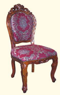 Rosewood Oriental Corner Chair Hand Carved Bird and Flower ...