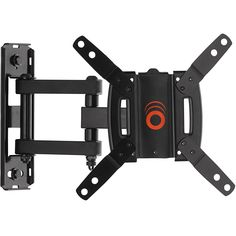 """ECHOGEAR Full Motion Articulating TV Wall Mount Bracket for most 15-39 inch TVs & Computer Monitors Featuring 10.5"""" of Extension, 90º of Swivel, & 16º of Tilt - EGSF1-BK"""