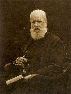 Pedro II of Brazil. Last Brazilian Emperor from 1841 to 1889. Born in Rio de Janeiro 1925 Died in Nice, France, in 1892