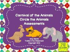 Carnival Of The Animals Listening LogsListening Journals  Music