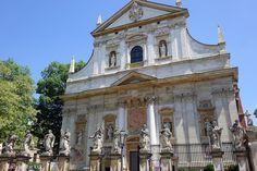 lady in black: One Day in Krakow #krakow #poland #polsko #lbloggers #travelling #krakov #easterneurope #cestovanie #visitpoland #visitkrakow #oldtown #visiteurope #placestosee #placestogo #tourist #vacation #travel #solotravel #romanticdestination #baroque #architecture #europe #saintpeter #church