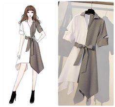 Fashion design drawings dresses inspiration New Ideas Teen Fashion Outfits, Look Fashion, Korean Fashion, Fashion Art, Fashion Collage, Fashion 2020, Fashion Fashion, Girl Outfits, Fashion Drawing Dresses
