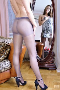 Purple passion in the morning. My Tights, Sheer Tights, Black Tights, Lovely Legs, Pantyhose Legs, Women Legs, Beautiful Redhead, Sexy Feet, Looking For Women