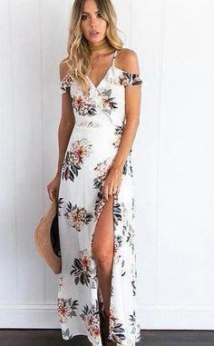 c8b252cd159c Hanging Gardens Maxi Dress. Maxi Dress With SlitFloral Chiffon Maxi  DressFloral Beach DressesFlower DressesSummer DressesEvening ...