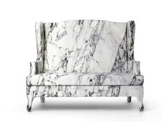 Deceptively Comfortable Marble Chairs - This Archaic Marble Chair Isn't as Uncomfortable as It (GALLERY)