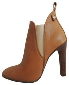 d1639e2ce0b CHLOE Tan Leather Ankle Boots   Booties size 36.5 www.fullcirclefashion.com  Tan Leather