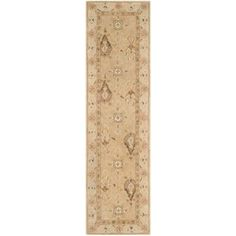 Safavieh Anatolia Beige 2 ft. 3 in. x 8 ft. Runner-AN587A-28 - The Home Depot