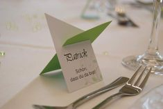 In verschiedenen Farb- un… Place card / place card / name card with a difference. Available in different color and font combinations. Invitation Cards, Party Invitations, Stationary Branding, Party Co, Font Combinations, Wedding Menu Cards, Inside Design, Kitchen Pictures, Woodland Party