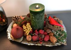 Fall candlescape