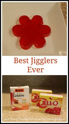 Through the Calm and Through the Storm: Best Jigglers Ever {recipe}