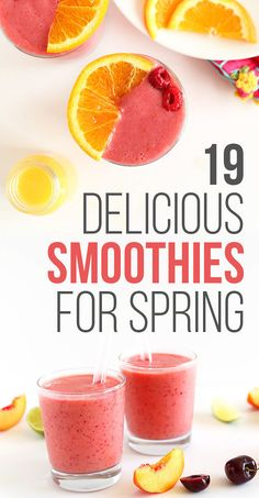 19 Fresh And Delicious Smoothies For Spring