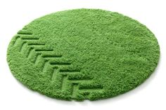 John Deere rug by the Norwegian design studio, Permafrost. Fantastic.
