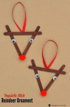15 Erstaunlich einfach, aber schöne Winter-Bastelarbeiten, die Ihre Kinder gerne machen würden - Dekoration De 15 manualidades de invierno increíblemente simples pero agradables que a tus hijos les encantaría hacer Kids Crafts, Winter Crafts For Toddlers, Craft Stick Crafts, Toddler Crafts, Preschool Crafts, Winter Kids, Winter Holiday, Preschool Age, Rock Crafts