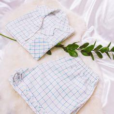 Conjuntinho Linho Camisa + Short White Shorts, Women, Fashion, Yarns, Moda, Fashion Styles, Fashion Illustrations, Woman