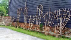 garden trellis | Garden Trellis Design on Garden Trellis And Plant Supports Obelisks ...morning glories would be pretty