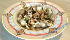 VONGOLE IN GUAZZETTO http://loscrignodelbuongusto.altervista.org/vongole-in-guazzetto/ #vongole #guazzetto #ricette #antipasti #pesce #food #foodblogger #cucina #cucinare