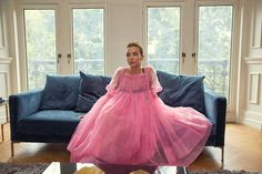 Created by Phoebe Waller-Bridge. With Jodie Comer, Sandra Oh, Fiona Shaw, Kim Bodnia. After a series of events, the lives of a security operative and an assassin become inextricably linked. Rachel Brosnahan, Elizabeth Gillies, Anna Wintour, Carrie Bradshaw, Vivienne Westwood, Tulle Dress, Pink Dress, Pink Tulle, Gown Dress