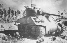 The amphibious assault on Tarawa in November 1943 was supported by the M4A2 medium tanks of C Company, I Marines Amphibious Corps Battalion. Most of the tanks deployed in the first day never made it to shore, being either knocked out by point-blank Japanese artillery fire from nearby bunkers, or drowned in deep shell holes. One of the few to survive the ordeal and make it to shore was Condor, only to fall victim to a US Navy dive bomber later that day.