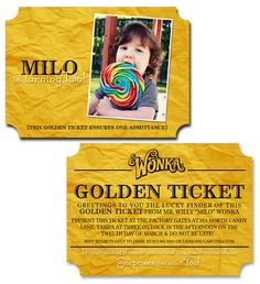 Golden ticket chocolate factory birthday party invitations parties golden ticket chocolate factory birthday party invitations parties parties for all pinterest golden ticket chocolate factory and party invitations filmwisefo