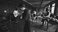 Joy Division were an English rock band consisting of Ian Curtis, Bernard Sumner, Peter Hook and Stephen Morris, formed in 1976 in Salford, Greater Manchester. Ian Curtis, Joy Division, Salford, Louis Armstrong, Mick Jagger, Cummins, Freddie Mercury, Jim Morrison, Closer