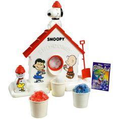 Snoopy Snowcones