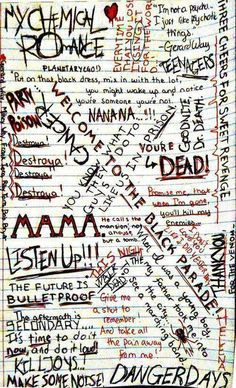 My Chemical Romance Emo Bands, Music Bands, Style Emo, My Chemical Romance Wallpaper, I Love Mcr, Band Quotes, Mcr Quotes, Band Memes, Emo Wallpaper