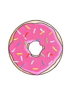 Pink Donut Patch,