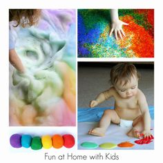 36 Rainbow Activities for Babies, Toddlers, Preschoolers and Older Kids from Fun at Home with Kids