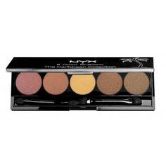 NYX 5 Colour Eye Shadow Palette - I Dream Of Aruba £8.00 (FREE UK Delivery) http://www.123hairandbeauty.co.uk/beauty-products-c5/eyes-c20/nyx-5-colour-eye-shadow-palette-i-dream-of-aruba-p1010